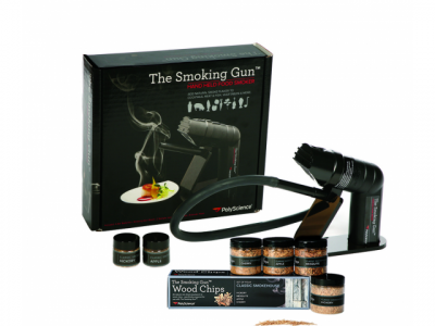 Set: The Smoking Gun, inklusive Räucherholz, Wood Kit Classic